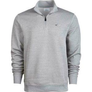 Greg Norman Grey Quarter Zip Sweater